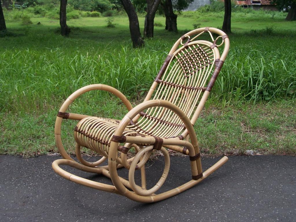 Плетение кресла качалки своими руками